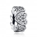 Charms do Pandora Separator Hearts