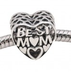 "Charms do Pandora ""Best Mom"""