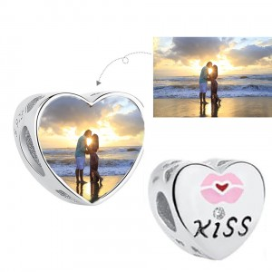 Charms do Pandora Foto Kiss