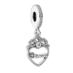 "Charms do Pandora ""Zawieszka Princess"""