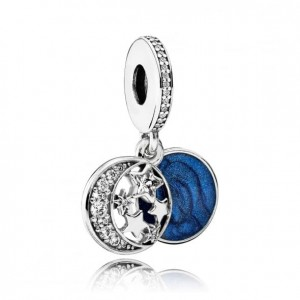 Charms do Pandora I love You to the Moon and Back